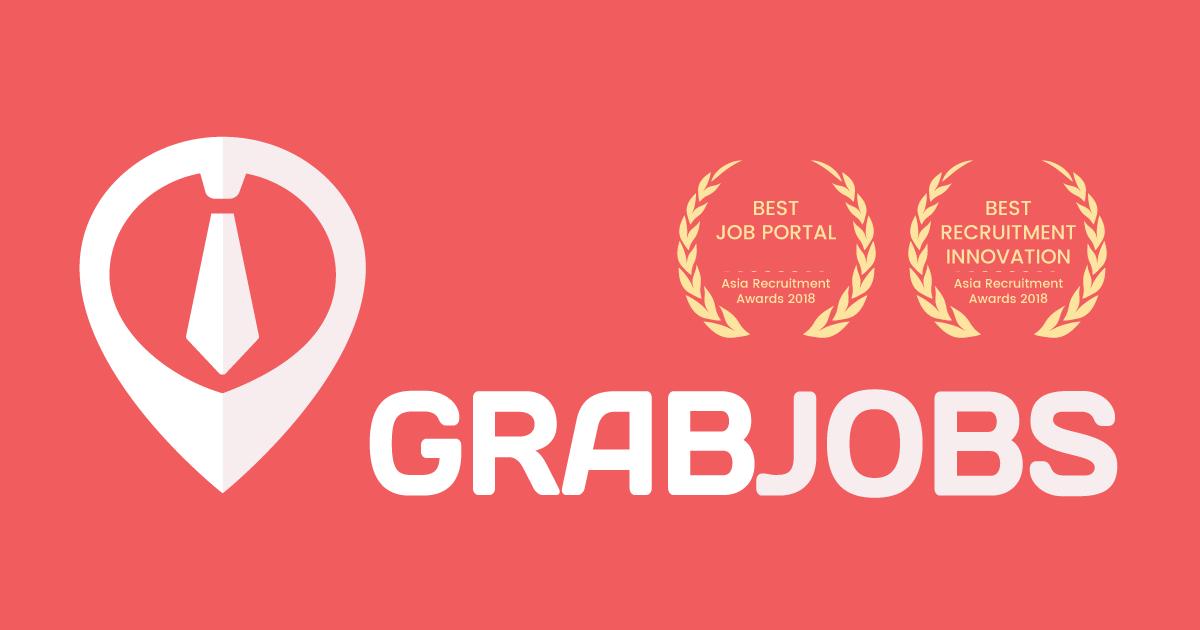 Logo of GrabJobs hiring for jobs in Singapore on GrabJobs