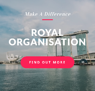 Logo of Royal Organisation hiring for jobs in Singapore on GrabJobs
