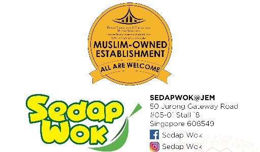 Logo of Sedap Wok Halal hiring for jobs in Singapore on GrabJobs