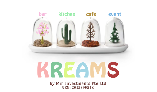 Logo of Cafe Kreams hiring for jobs in Singapore on GrabJobs