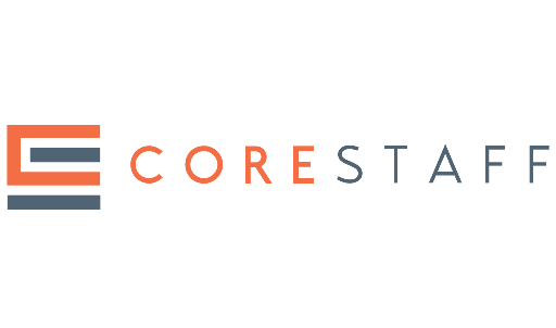 Logo of Corestaff Pte Ltd hiring for jobs in Singapore on GrabJobs