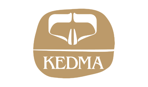 Logo of Kedma Cosmetics hiring for jobs in Singapore on GrabJobs
