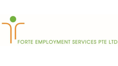 Logo of Forte Employment Services hiring for jobs in Singapore on GrabJobs