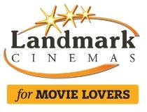 Logo of Landmark Cinemas hiring for jobs in Canada on GrabJobs